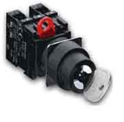 Селекторные переключатели с поворотным ключем